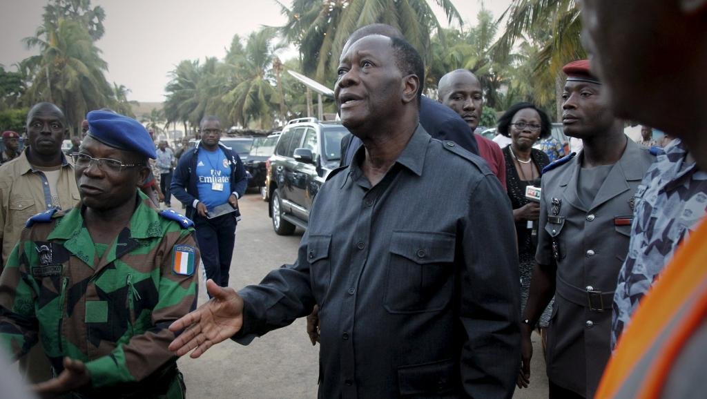 Première commémoration de l'attentat de Grand-Bassam — Côte d'Ivoire