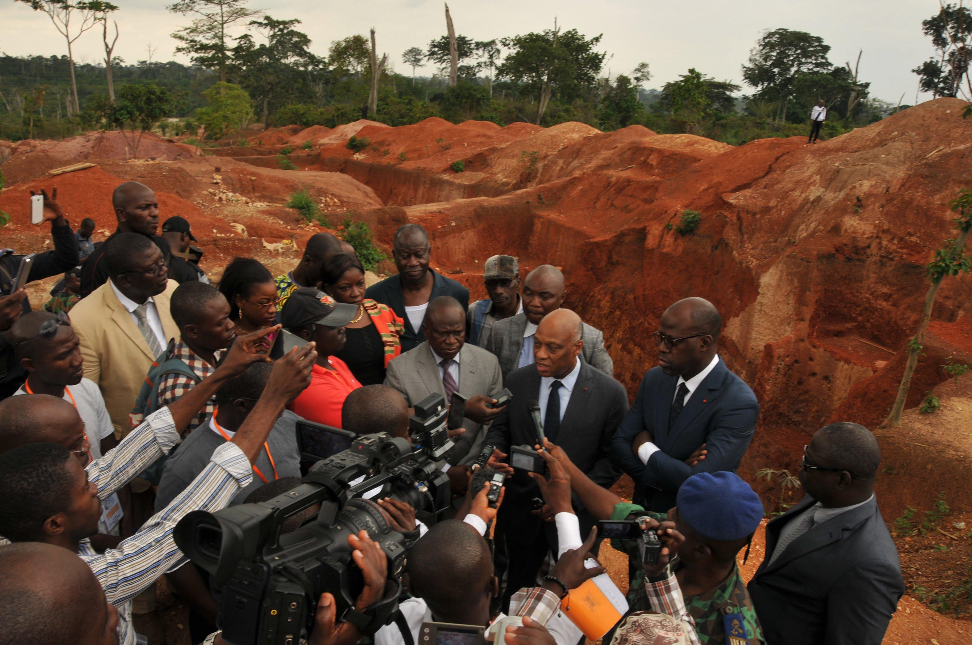 """Résultat de recherche d'images pour """"Côte d'Ivoire, orpaillage clandestin"""""""
