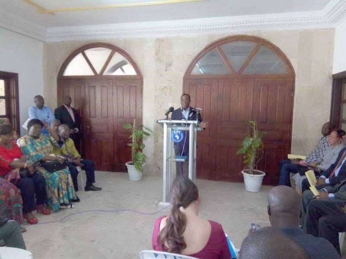 Manifestation de l'opposition contre les mutineries de mai — Côte d'Ivoire