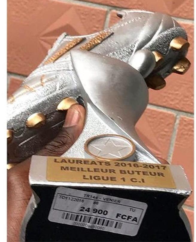 Découvrez pourquoi Bancé est furieux de recevoir son Soulier d'or — Côte d'Ivoire