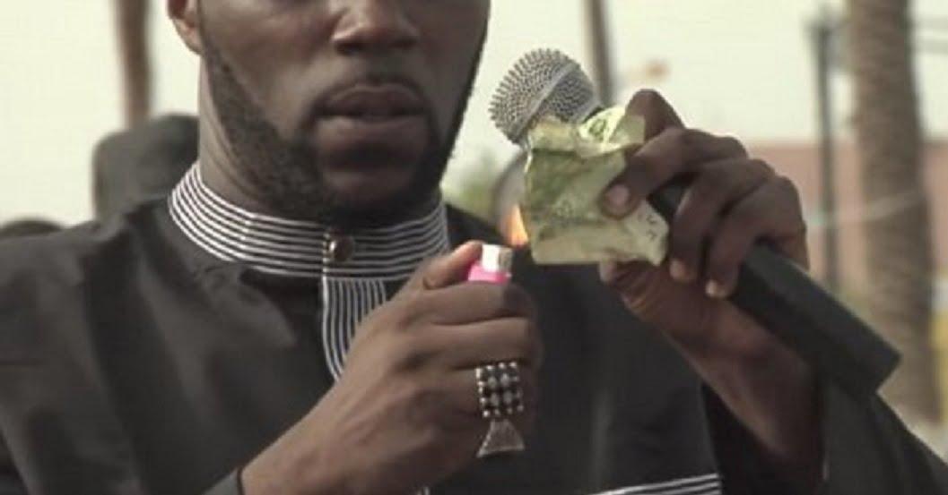 L'activiste Kémi Séba arrêté à Dakar