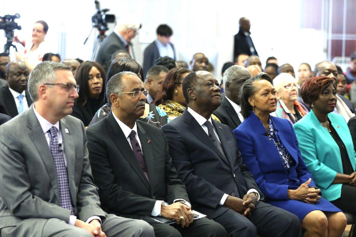 Arrivée du Président de la République, SEM Alassane Ouattara