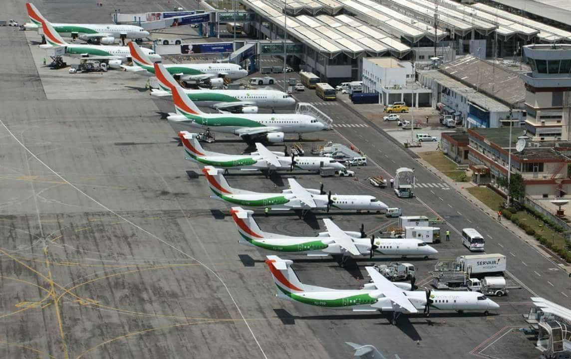 Nouvelle taxe sur les billets des vols internationaux à l'aéroport d'Abidjan