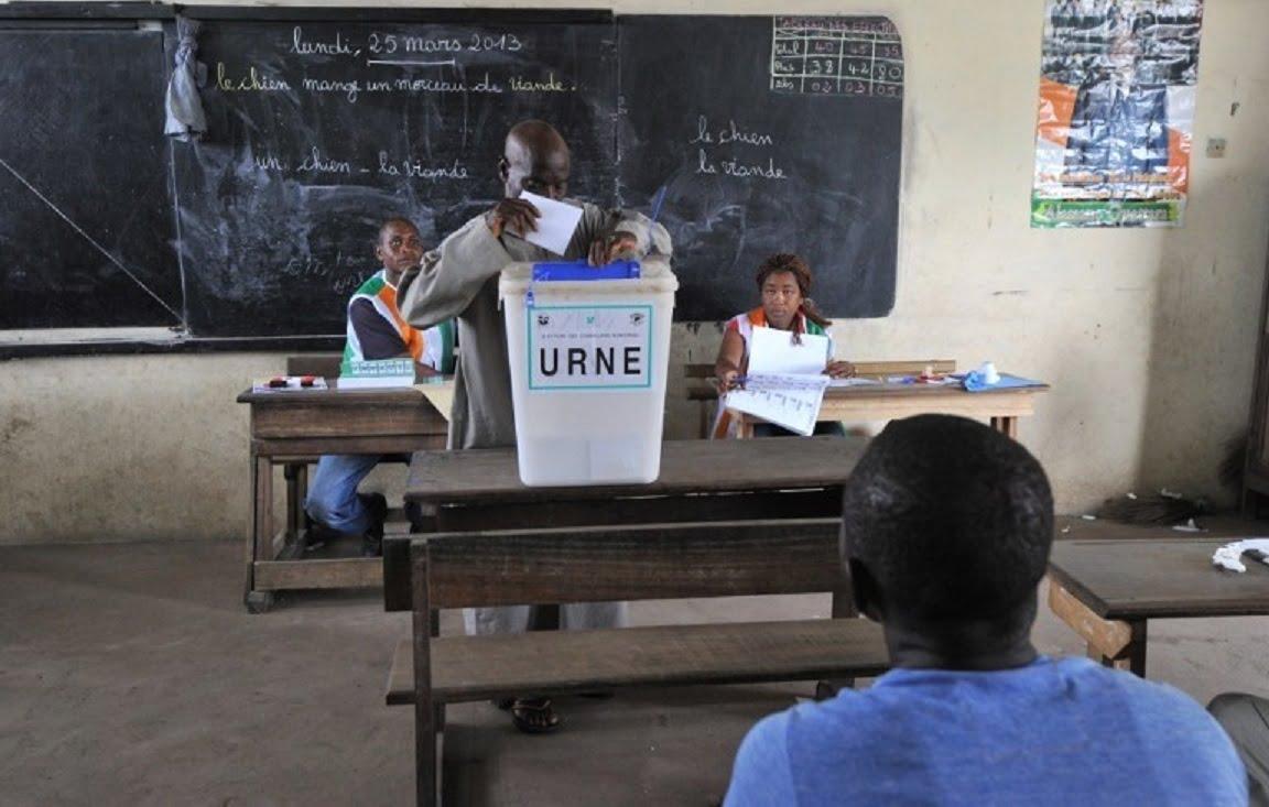 c te d ivoire ouverture des bureaux de vote 8h pour l lection des s nateurs. Black Bedroom Furniture Sets. Home Design Ideas