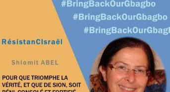 Côte-d'Ivoire affaire courrier de Mme Gbagbo: Shlomit Abel aux facebookers de Gbagbo «Arrêtez vos délires»