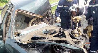 La route a encore tué en Côte-d'Ivoire: Deux morts et 8 blessés dans une collision sur l'autoroute du nord