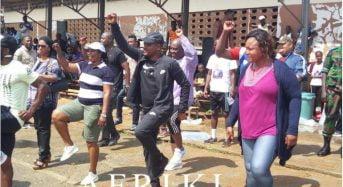 Au Plateau en Côte-d'Ivoire: Fabrice Sawegnon dit ne craindre personne et qu'il ne sera pas essoufflé