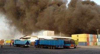 Côte-d'Ivoire incendie: Près de 20 camion-citernes partent en fumée à la GESTOCI