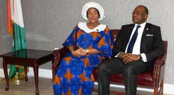 Le nouvel Ambassadeur de la Côte-d'Ivoire à Washington D.C., S.E.M. Haïdara rencontre la diaspora ivoirienne