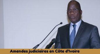 Le recouvrement des amendes judiciaires reste à un niveau très bas niveau en Côte-d'Ivoire