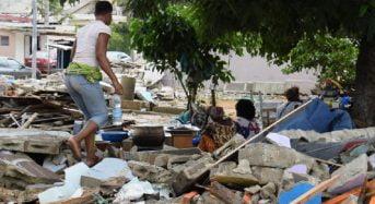 Déguerpis de Danga en Côte-d'Ivoire: Des familles vivent sur les ruines de leurs habitations