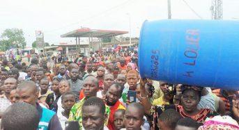 Plusieurs villes complètement asséchées par la pénurie d'eau en Côte-d'Ivoire