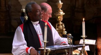Entre prêche passionné du révérend Bruce Curry et Gospel enflammé, Harry et Meghan brisent le «traditionnel»