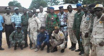 Tabou Côte-d'Ivoire: Les forces de sécurité ivoiriennes et libériennes se rencontrent à Toupa