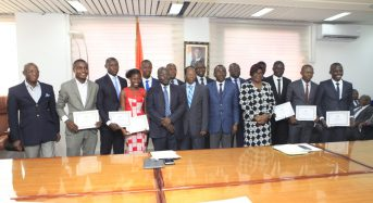 Olympiades universitaires du CAMES à Ouagadougou: L'Université de Bouaké honore la Côte d'Ivoire