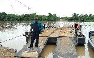 Bouna Côte-d'Ivoire: Le bac de Vonkoro sur la «mouhoun» Volta noire réparé après 6 mois d'arrêt