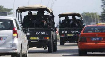 Sept policiers blessés en Côte-d'Ivoire après un tonneau de leur véhicule sur l'autoroute du Nord