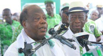 Meeting du Pdci à Gagnoa en Côte-d'Ivoire: Fier de la décision de Bédié, Konan Banny cogne Ouattara