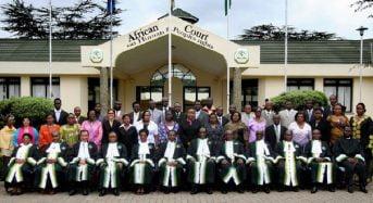 La Cour africaine des Droits de l'homme: Une coquille vide ?