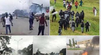 Côte-d'Ivoire: Échauffourées entre étudiants de la FESCI et forces de l'ordre sur le campus de Cocody (Abidjan)