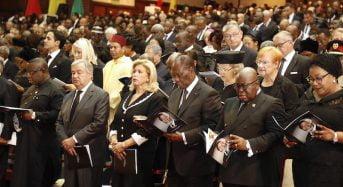 Côte-d'Ivoire: Ouattara et son épouse, présents aux obsèques de Kofi Annan