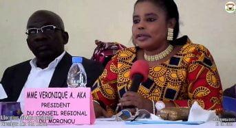 Côte-d'Ivoire: Accusée par le camp Affi de fraudeuse dans le Moronou, Aka Véronique réagit