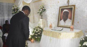 Côte d'Ivoire: Soro auprès de la tendance FPI Affi N'guessan aux obsèques de Gossio