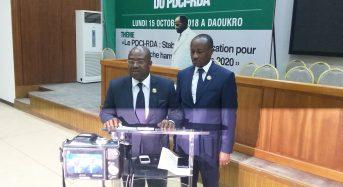En Côte-d'Ivoire le groupe parlementaire du PDCI se prononce sur le Budget 2019 et les Zones franches annoncées