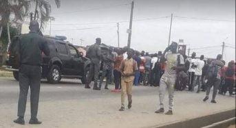 Un vingtaine d'ex-militaires manifestent en Côte d'Ivoire  pour «les cotisations au fonds de prévoyance militaire»