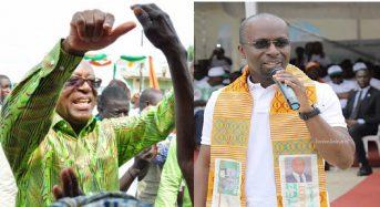 """Côte d'Ivoire duel élection partielle à Bassam: Ezaley regrette les """"insultes'' de Mamadou Touré, Moulot veut «confirmer»"""
