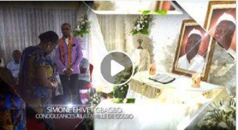 En Côte-d'Ivoire Simone Gbagbo part présenter ses condoléances à la famille de Gossio