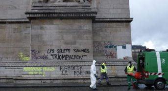 «Gilets jaunes»: Un 3e mort, 682 personnes interpellées, Macron fait face à une crise majeure