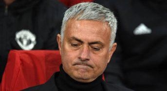 Mourinho débarqué par Manchester United