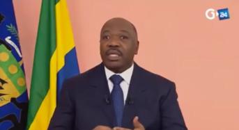 Première adresse d'Ali Bongo aux Gabonais depuis son AVC