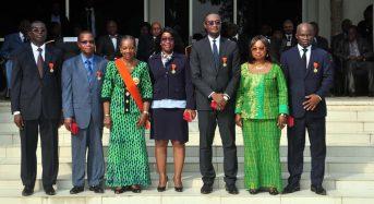 Côte d'Ivoire: «Nous marchons sur un chemin qui a connu des épisodes douloureux…», avertissement de la Grande chancelière
