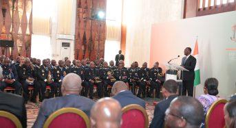 Ouattara assure que «nul ne sera en mesure de troubler la paix en Côte-d'Ivoire tant» qu'il sera président