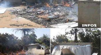 Côte-d'Ivoire : Les corridors de Danané incendiés par les conducteurs de Taxi moto