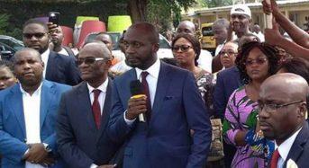 Le PDCI envisage l'usage de tous «les moyens légaux» pour l'installation du conseil municipal élu du Plateau