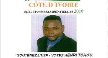 Côte-d'Ivoire: Le message de Paix de Tohou Henri après l'acquittement de Gbagbo et de Blé Goudé