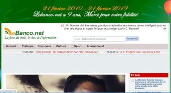 Côte d'Ivoire: Célébration des 9 ans de Lebanco.net, les réactions des hommes de communication…