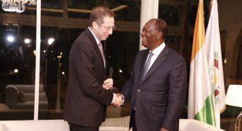 Élections transparentes et apaisées en 2020 en Côte-d'Ivoire: Le National democratic institute (NDI) en discute avec Ouattara