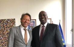 Le porte-parole des pays exportateurs de cacao rencontre le nouveau délégué de l'Union Européenne à Abidjan