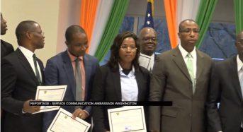 Vidéo Washington, DC: Le Personnel des Missions diplomatiques de Côte-d'Ivoire formé à une gestion «informatique» harmonisée