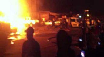 Une personne tuée et 7 autres brulées après une explosion de gaz à Abidjan en Côte-d'Ivoire