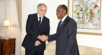 Alassane Ouattara et Luis Moreno Ocampo, une histoire de rencontres