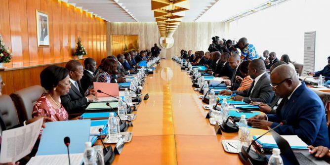 """Résultat de recherche d'images pour """"ouattara, gouvernement rhdp"""""""