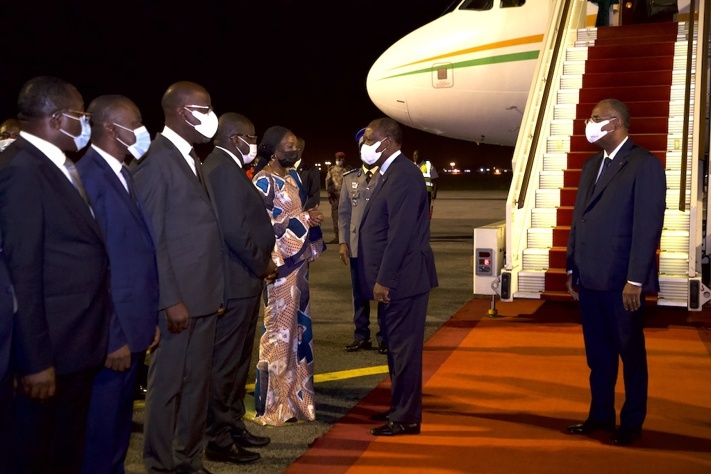 Return of Ouattara to Ivory Coast