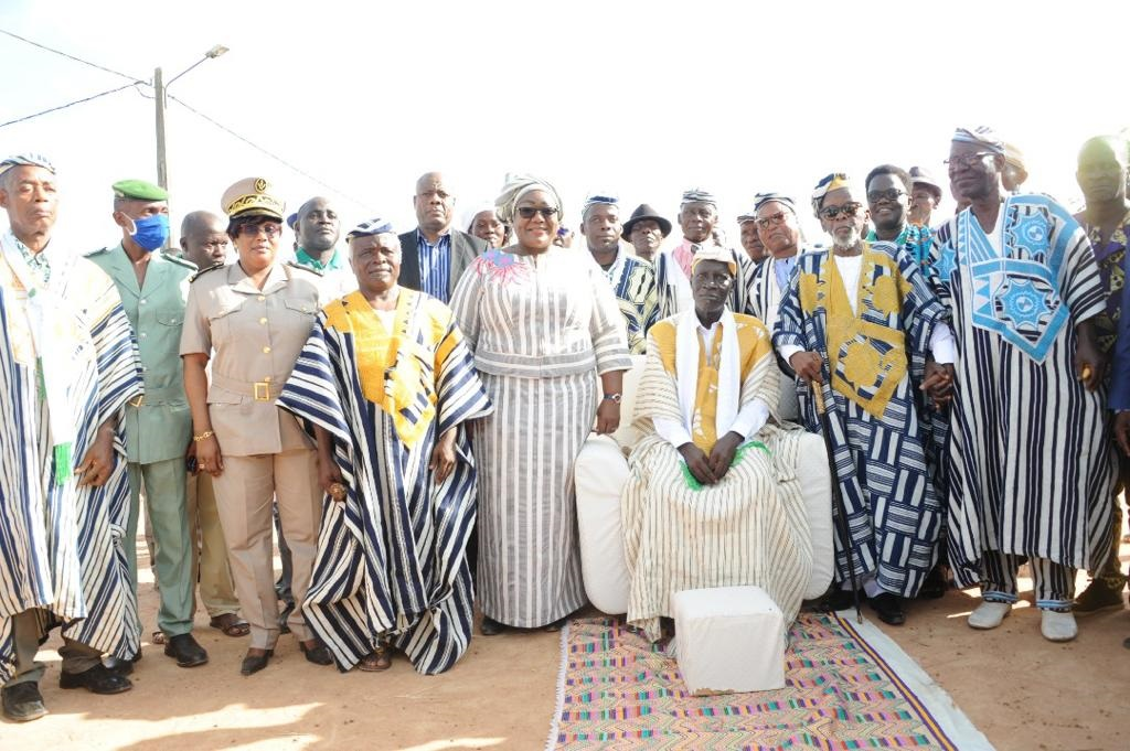 Bloléquin / investiture of the chief of Zéaglo: Ouloto invites the populations not to doubt Ouattara's promises