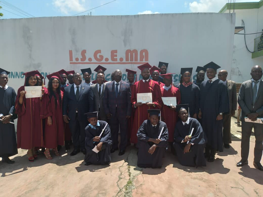 ISGEMA The only address in Africa for a French state diploma delocalized from Jean Monnet Saint-Etienne University