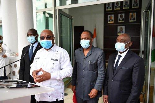Le FPI de Gbagbo chez Hambak